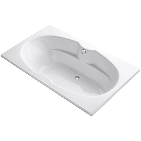 KOHLER Drop-In Bath - 42-in x 20.13-in - Acrylic - White