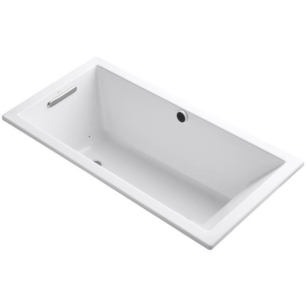 KOHLER Underscore Drop-In Bath - 30-in x 18-in - Acrylic - White