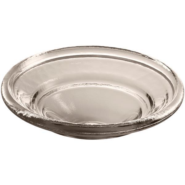 KOHLER Drop-in Sink - 17.5-in x 6-in - Glass - Clear