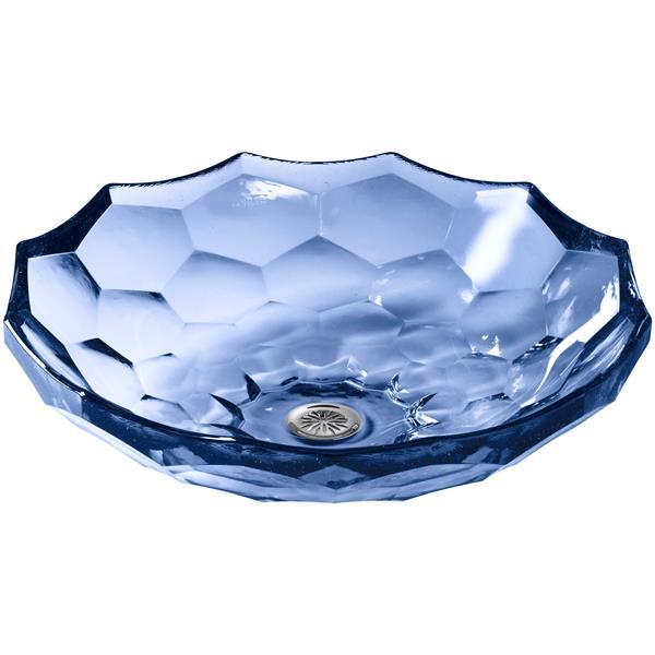 Kohler Co Briolette Vessel Sink 17 5 Quot X 4 75 Quot Glass