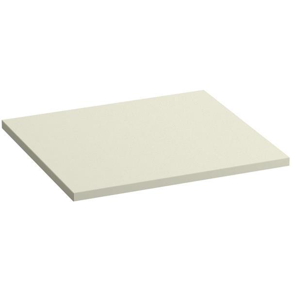 """Dessus de meuble-lavabo Solid/Expressions, 22"""", beige"""