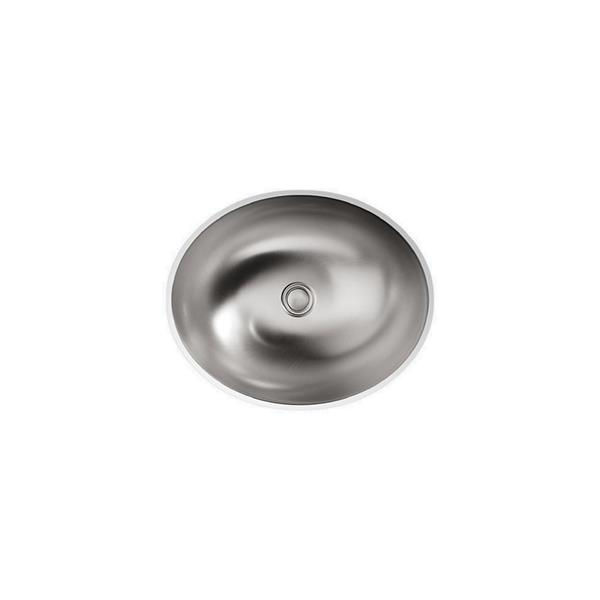 KOHLER Bachata Drop-in Sink - 16.69-in x 5.75-in - Stainless Steel