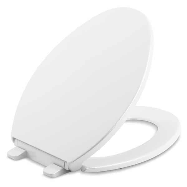 KOHLER Brevia Toilet Seat - 18-in - Plastic - White