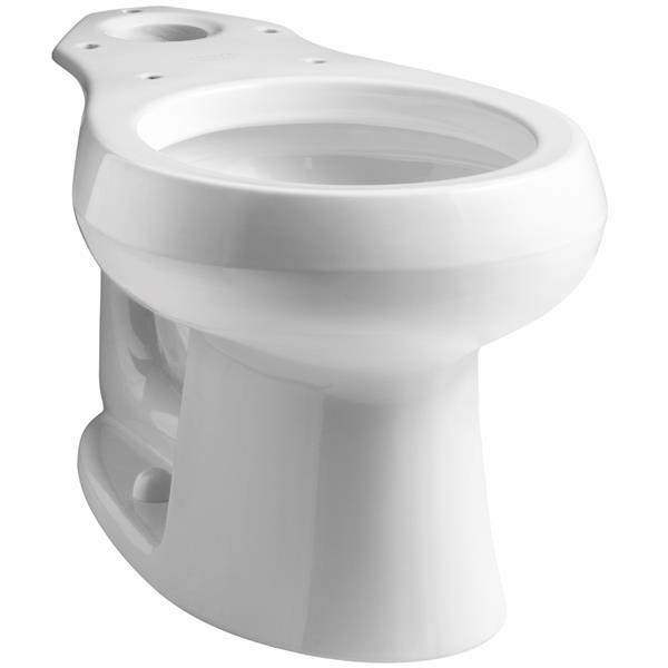 KOHLER Wellworth Toilet Bowl - 51.3-in - Vitreous China - White
