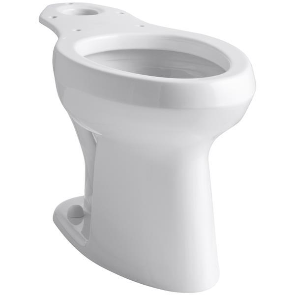 "Cuvette de toilette Highline avec Pressure Lite, 17"", blanc"