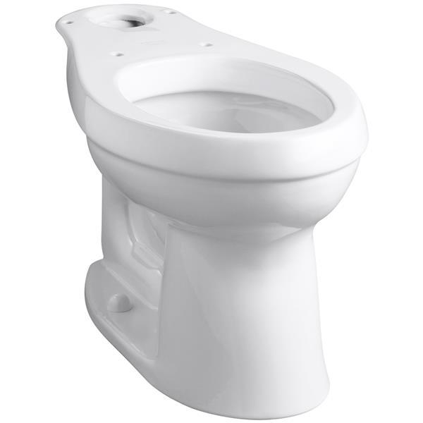 KOHLER Cimarron Toilet Bowl - 15.44-in x 28.69-in - White