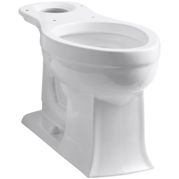 KOHLER Archer Elongated Bowl - 14.44-in x 29.12-in - White