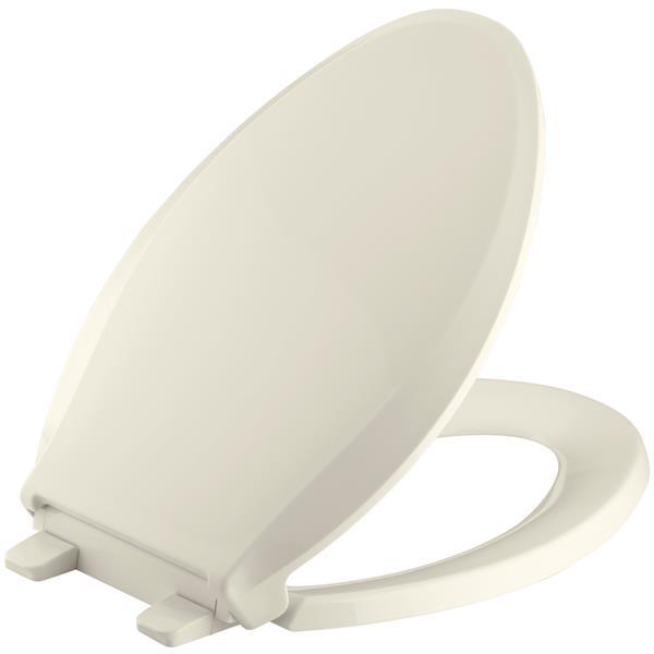 KOHLER Cachet Toilet Seat - 18.06-in - Plastic - Almond