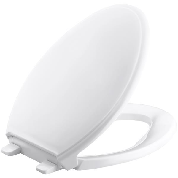 KOHLER Glenbury Toilet Seat - 18.06-in - Plastic - White