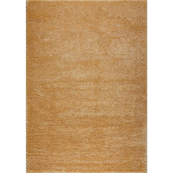 La Dole Rugs® Meknes Area Rug - 5.3' x 7.5' - Polypropylene - Yellow