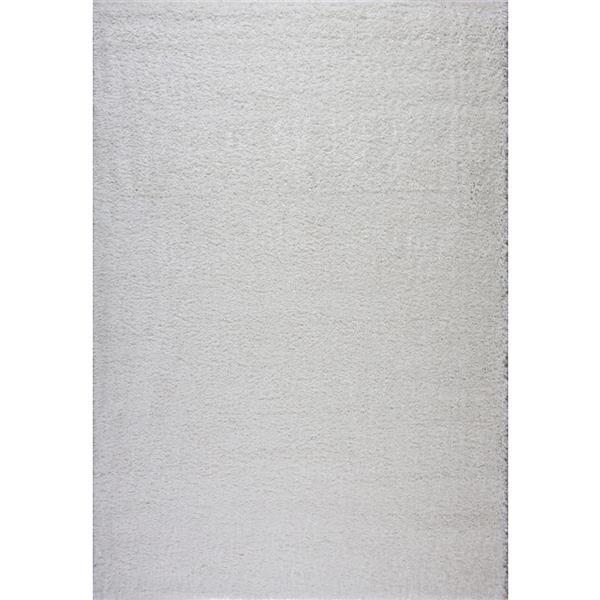 La Dole Rugs® Meknes Area Rug - 3.9' x 5.6' - Polypropylene - Ivory