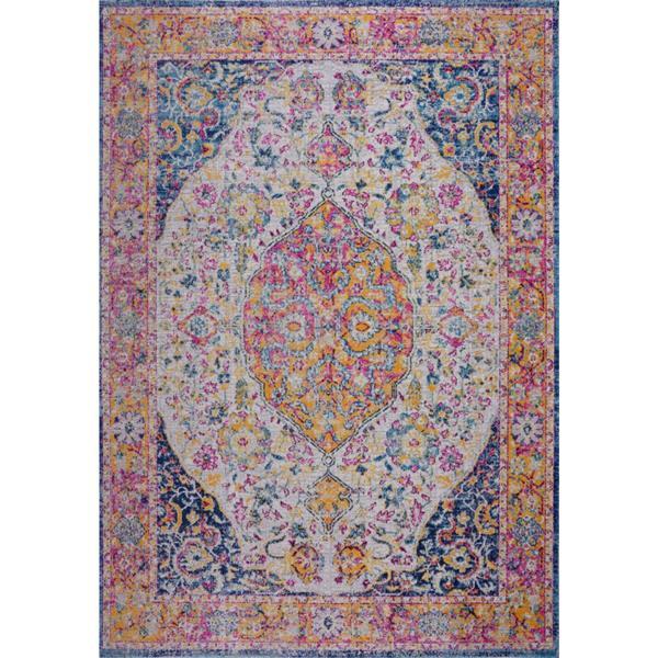 La Dole Rugs®  Florida Area Rug - 1.8' x 2.9' - Polypropylene - Multicolour