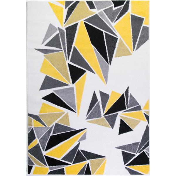 La Dole Rugs®  Geometric Area Rug - 5.3' x 7.5' - Multicolour