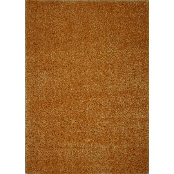 La Dole Rugs®  Candy Area Rug - 6.4' x 9.4' - Polypropylene - Orange