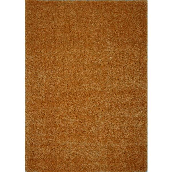 La Dole Rugs®  Candy Area Rug - 7.8' x 10.4' - Polypropylene - Orange
