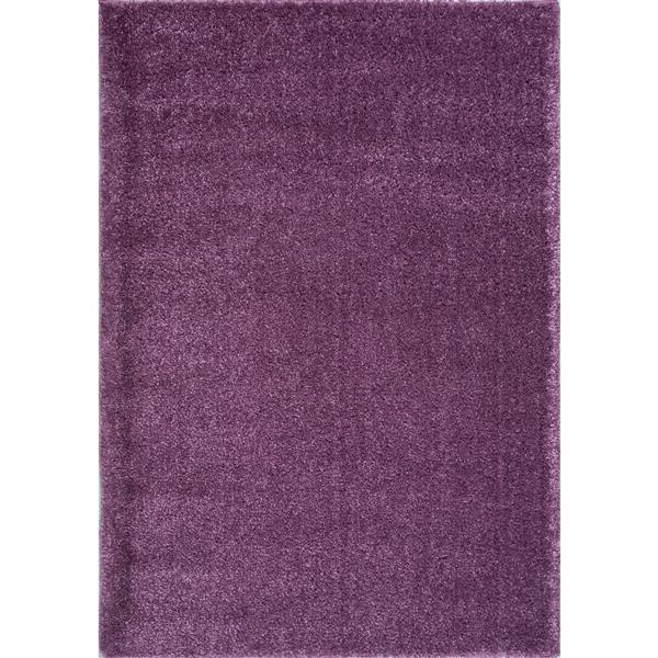 La Dole Rugs®  Candy Area Rug - 5.3' x 7.5' - Polypropylene - Purple