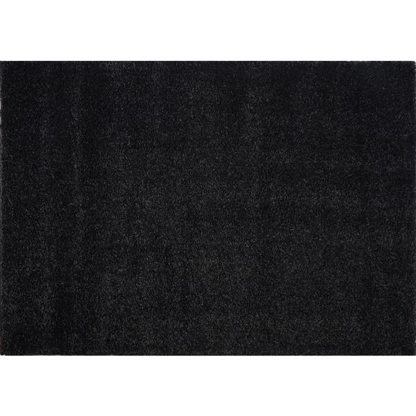 La Dole Rugs®  Candy Area Rug - 3.9' x 5.6' - Polypropylene - Dark Gray