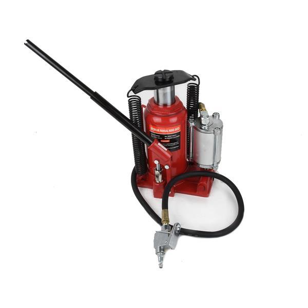 Matrix Toolway 20 Ton Air/Manual Hydraulic Bottle Jack