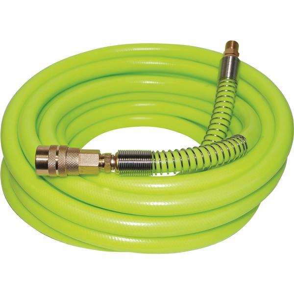 """Tuyau d'air en PVC flexible pour compresseur, 1/4 """"X25'"""