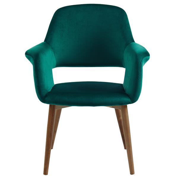 WHI Accent & Dining Chair  - Green Velvet