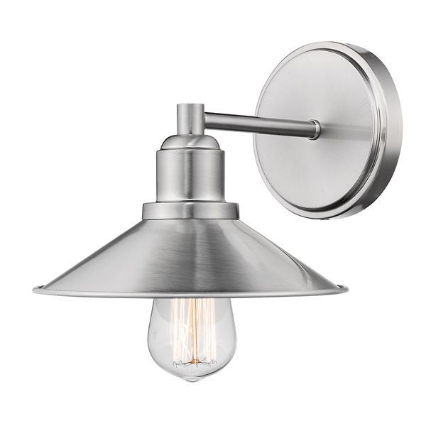 Z-Lite Casa Contemporary 1-Light Vanity Light - Nickel