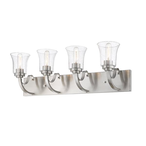 Z-Lite Halliwell 4-Light Vanity Light - Nickel