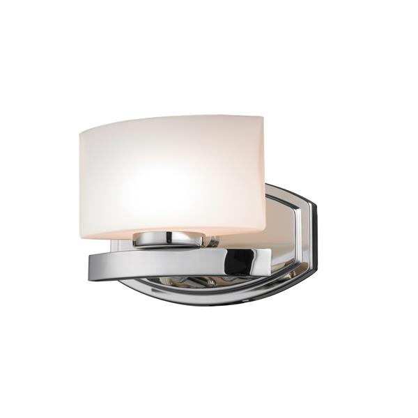 Z-Lite Galati Modern 1-Light LED Vanity Light - Chrome