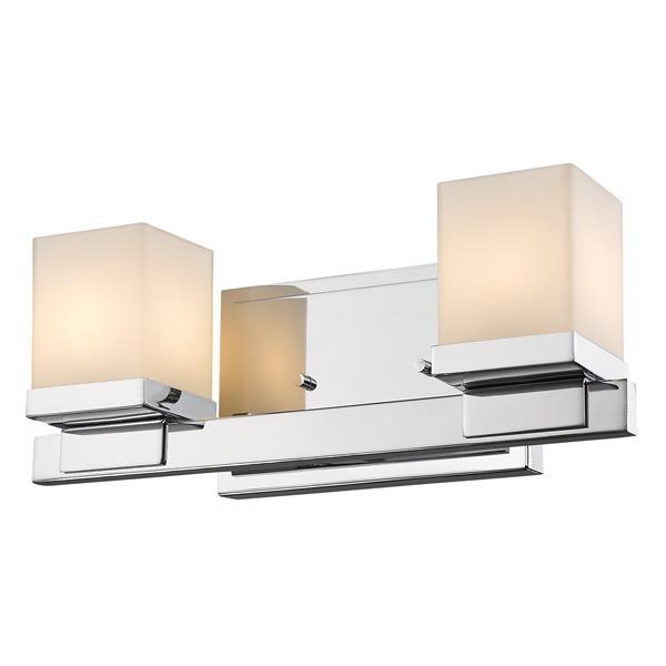 Z-Lite Cadiz Modern 2-Light Vanity Light - Chrome