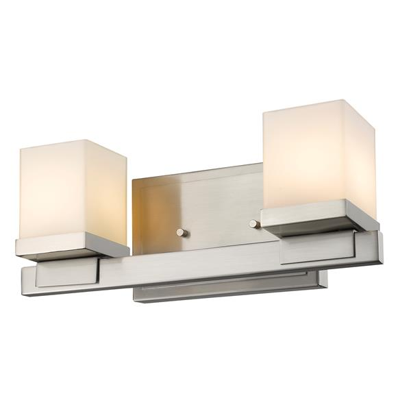 Z-Lite Cadiz Modern 2-Light Vanity Light - Nickel