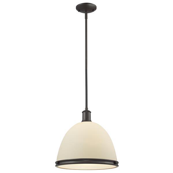 Luminaire suspendue à 1 lumière «Mason», chrome
