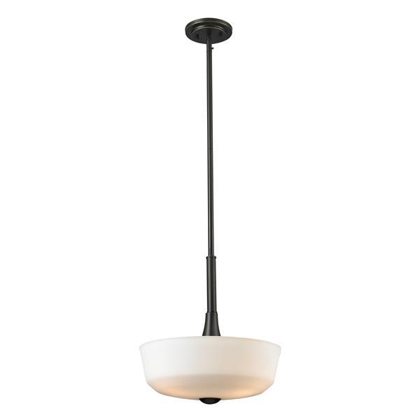 Z-Lite Montego 3-Light Pendant Light - Bronze