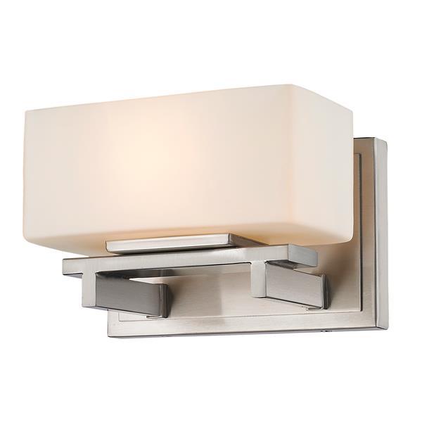 Z-Lite Kaleb 1-Light Wall Sconce - Brushed Nickel