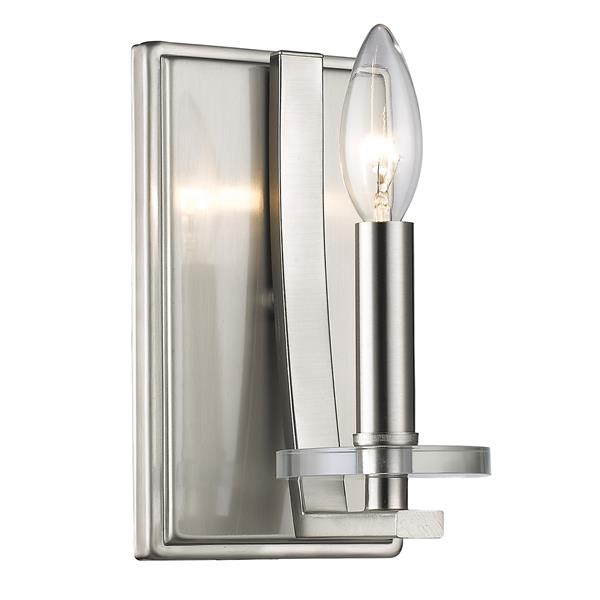 Z-Lite Verona 1-Light Wall Sconce - Brushed Nickel