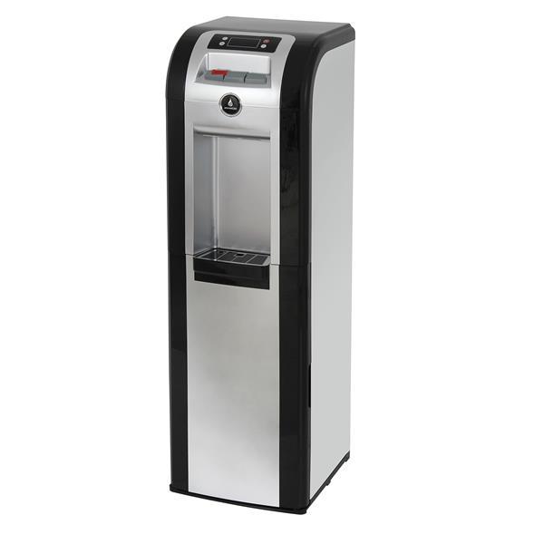 Distributeur d'eau, température multiples, noir/platine