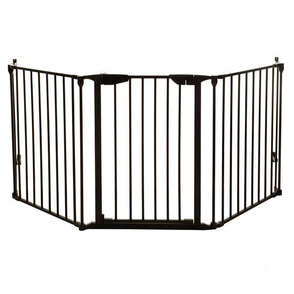 Dreambaby® Newport Adapta-Gate® - 3 Panels - Black