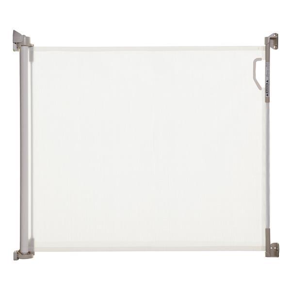 Barrière intérieure/extérieure rétractable Dreambaby® -blanc