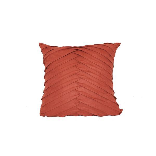 Coussin décoratif à motif chevron, 20 po x 20 po, mutlicolore