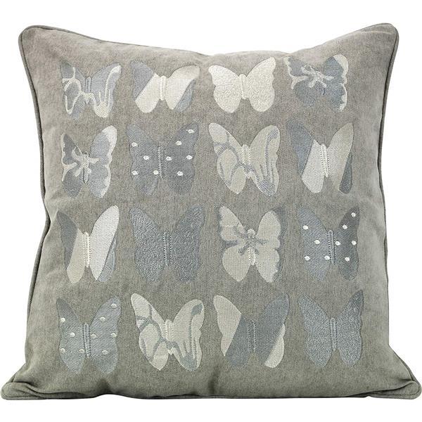 """Coussin décoratif «Butterfly», 20"""" x 20"""", multicolore"""
