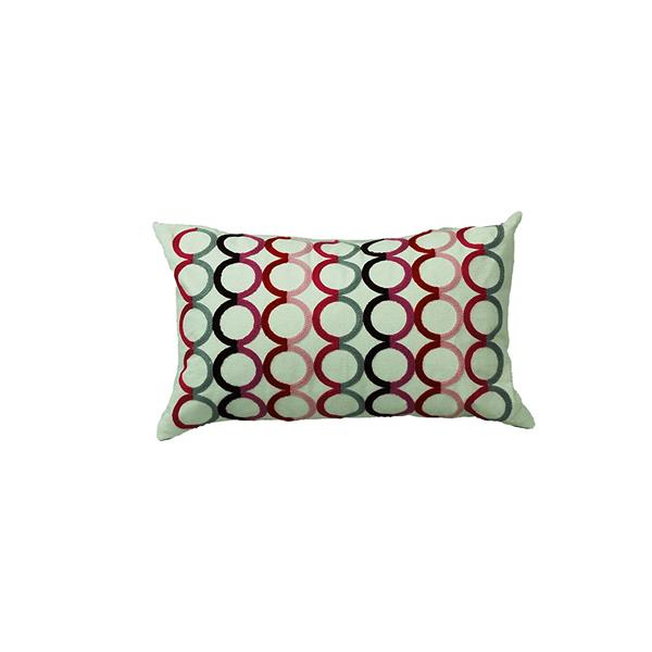 Urban Loft by Westex Rings Decorative Cushions - 12-in x 18-in - Multicoloured