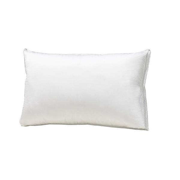 Sleep Solutions by Westex Luxury Cotton Goose Down Standard Pillow - White