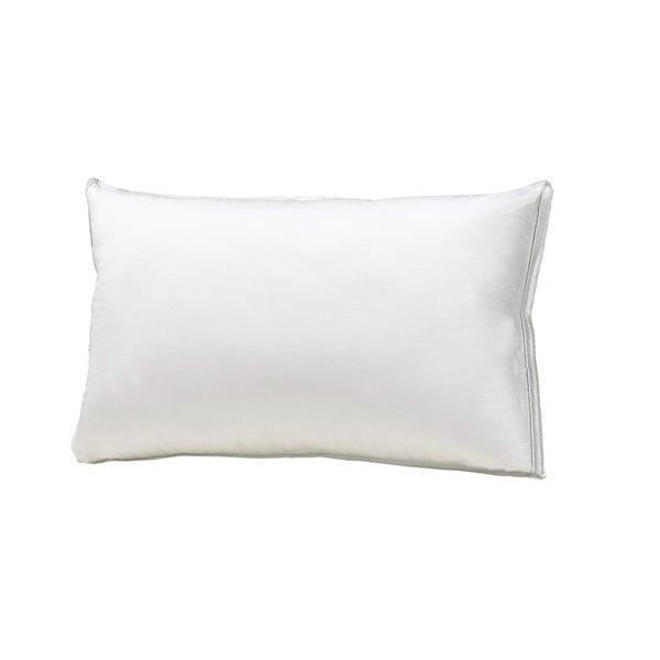 Oreiller de luxe en duvet d'oie, très grand, blanc