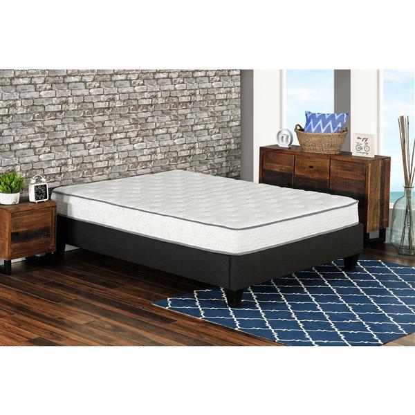 "Matelas 8"" Berri ressorts ensachés avec gel, très grand lit"