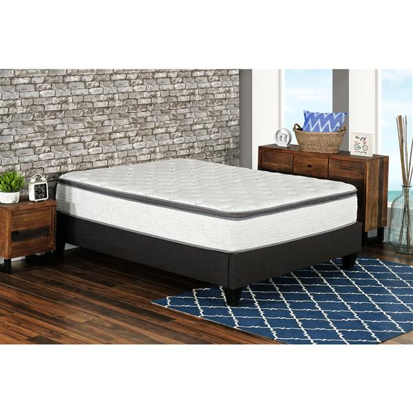 "Matelas 12"" Berri ressorts ensachés avec gel, grand lit"