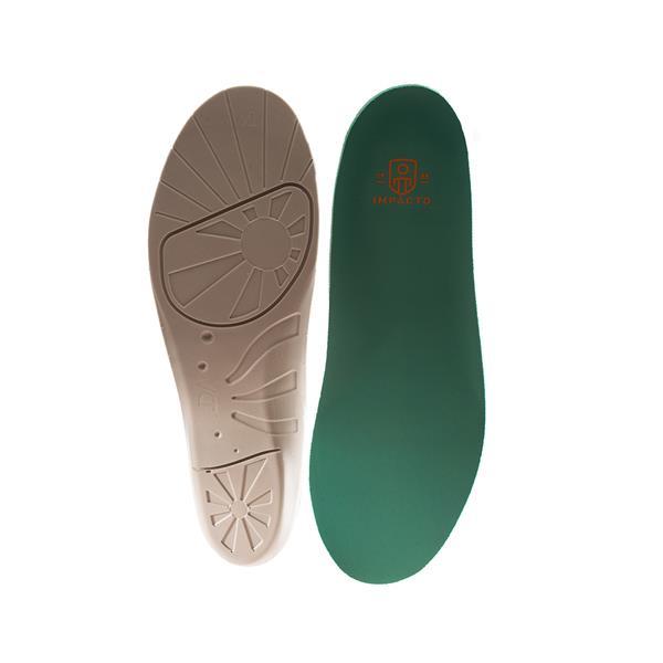 Semelles antifatigue Airsol moulée Impacto, TTG, vert, chaussure H13-14
