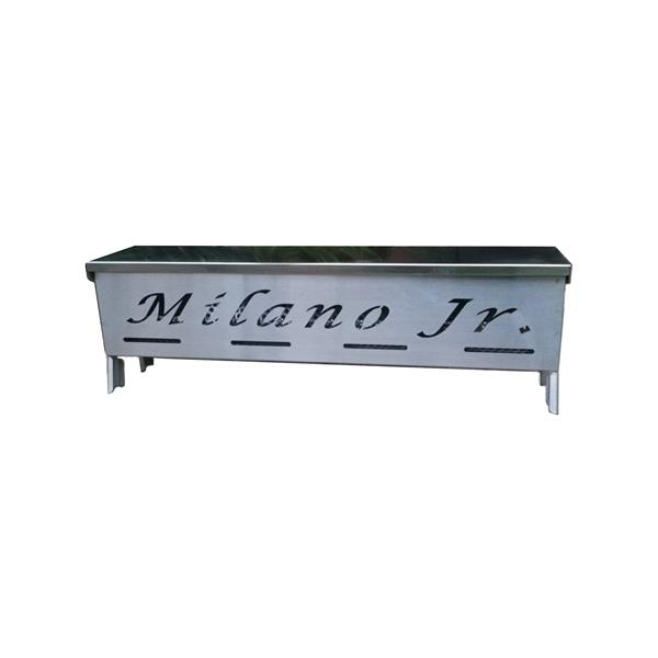 Milano Jr Charcoal Grill - Stainless Steel