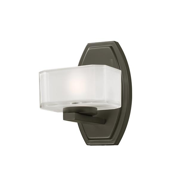 Applique pour salle de bain Cabro, 1 lumière, bronze