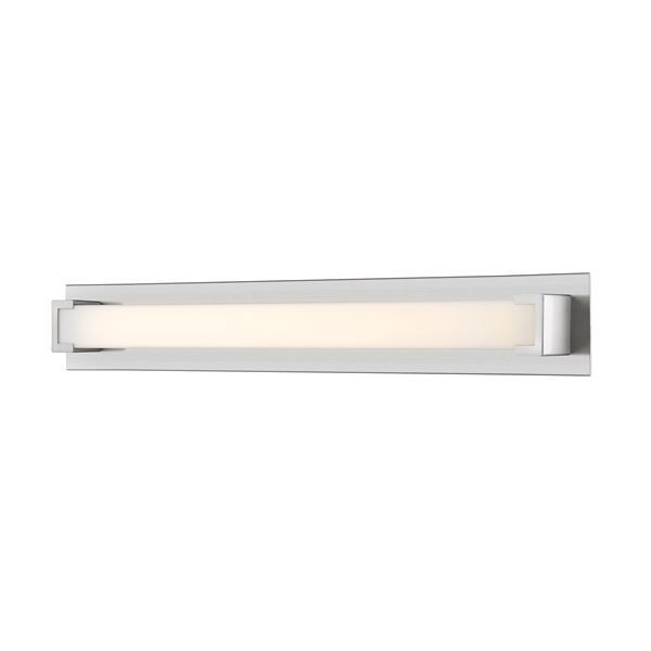 Z-Lite Elara Bathroom LED Vanity Light - 1-Light - Brushed Nickel