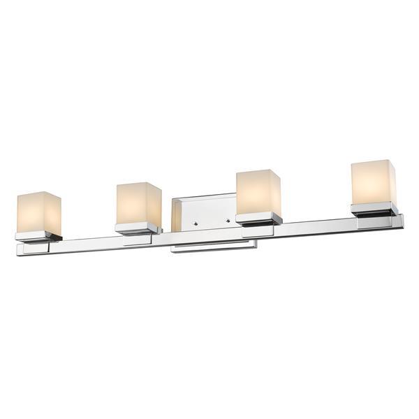 Applique pour salle de bain Cadiz, 4 lumières, chrome