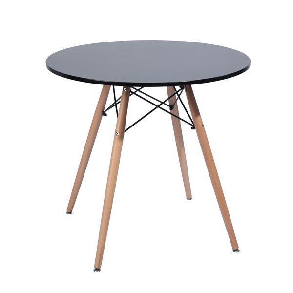 Furniturer Modern Dining Table Round 31, Round Furniture Legs