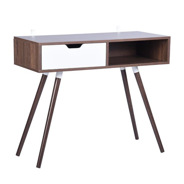 Furniturer Ulton Brown Office Desk
